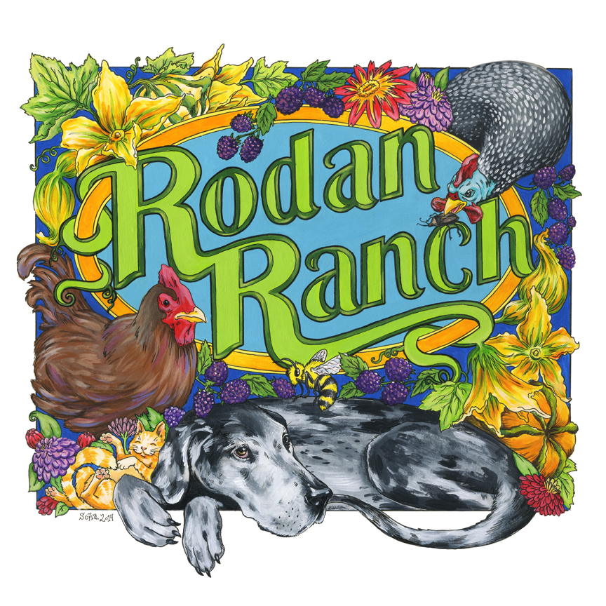 Rodan Ranch product label