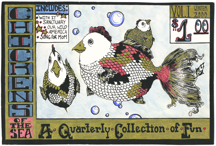 Chickens of the Sea ©2000 Sonya Andrews