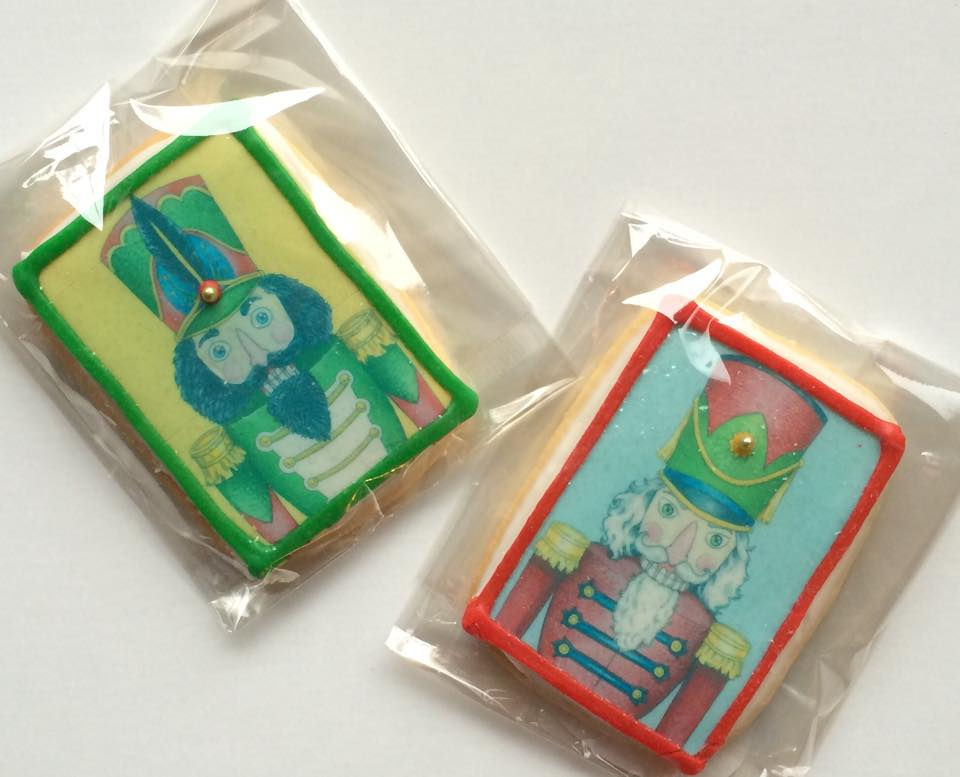 Nutcracker Cookies by Sonya Andrews & Swoon Cookie Crafters